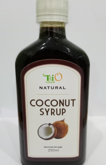 Coconut Syrup TRIO Natural 250 ml