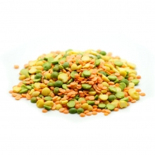Lentil Split Mix TRIO Natural 900 gr