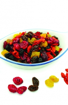 Mix Fruits TRIO Natural 225 gr