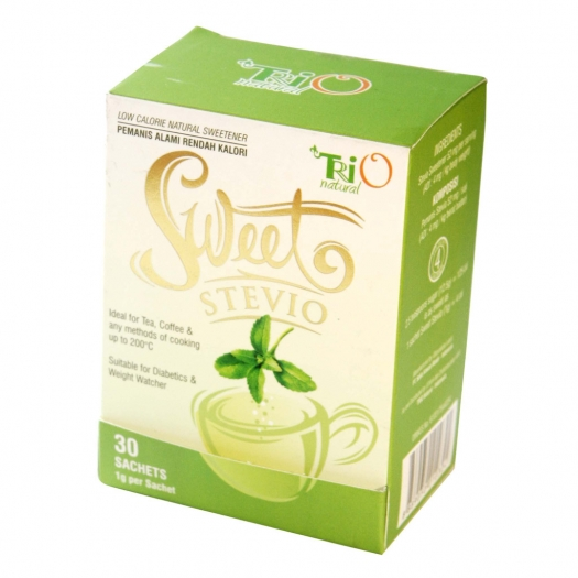 Sweet Stevio 30 Sachets TRIO Natural x 50 Box
